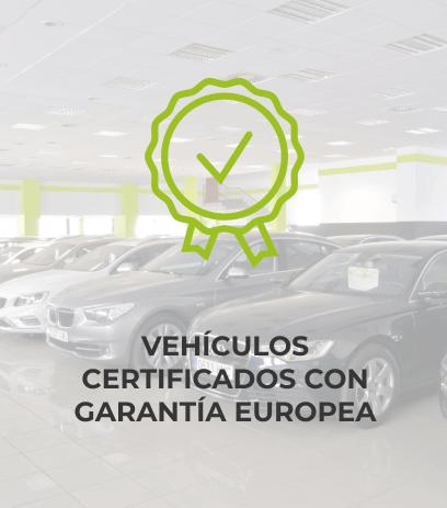 Vehículos certificados con garantía europea